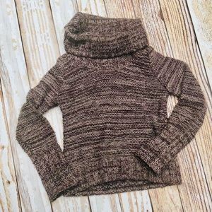 Ann Taylor LOFT Cowl neck sweater heavy and warm